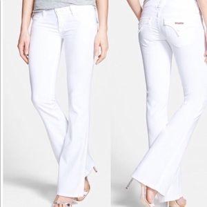 Hudson signature bootcut jeans size 31 white